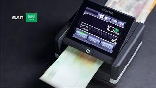 Детектор банкнот DORS 230 M2, автоматический, 60 валют, ИК-, УФ-, магнитная детекция