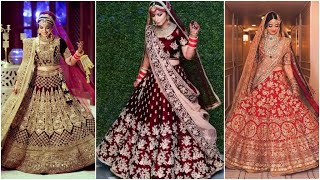 Best Collection Of Bridal Lehenga, Designer Dresses For Indian Bride, Designer Wedding Lehenga