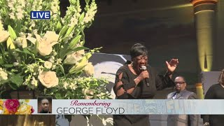 George Floyd Funeral: Sermonic Solo By Minister Kurt Carr