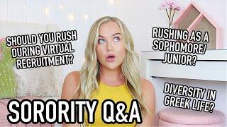 Brutally Honest SORORITY Q&A   Should You RUSH?