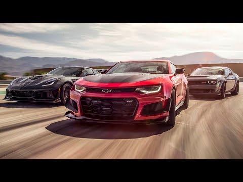Corvette ZR1 vs Camaro ZL1 vs Dodge Demon | Top Gear