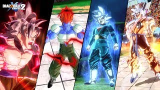 DBXV2: All Custom Characters Epic Transformations (Compilation)