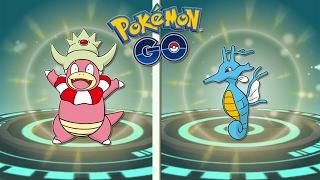 Slowking  - (Pokémon) - ¡KINGDRA y SLOWKING! Evoluciones de Segunda Generación de Pokémon GO | Keibron Gamer