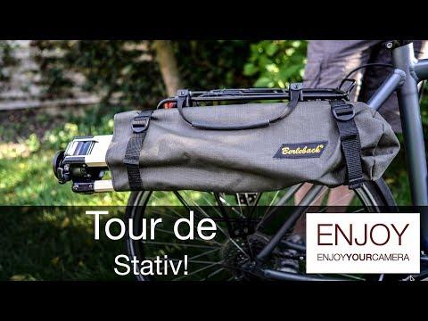 Berlebach Stativtasche: Stative ganz einfach mit dem Fahrrad transportieren