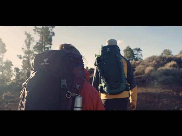 Видео Рюкзак Deuter Futura 23 (turmeric-greencurry)