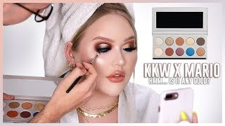 KKW BEAUTY x MARIO COLLECTION REVIEW | Face Match - Video Youtube