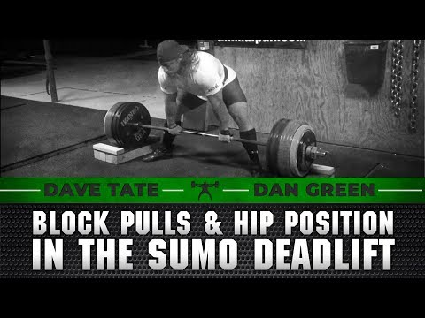 Dan Green on Block Pulls and Hip Position in the Sumo Deadlift | elitefts.com