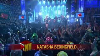 """Natasha Bedingfield  """" Weightless"""" Dick Clark"""