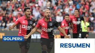 Resumen: FBC Melgar vs. Sporting Cristal (1-0)
