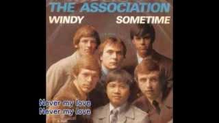 The Association Never My Love with Lyrics Video