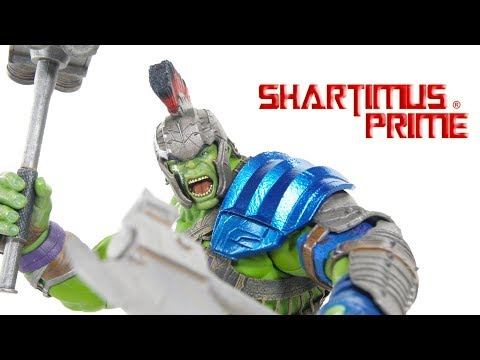 Mezco Gladiator Hulk One:12 Collective Thor Ragnarok Marvel Movie Action Figure Review