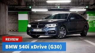 The new BMW 540i (G30). Not so sure about this one...