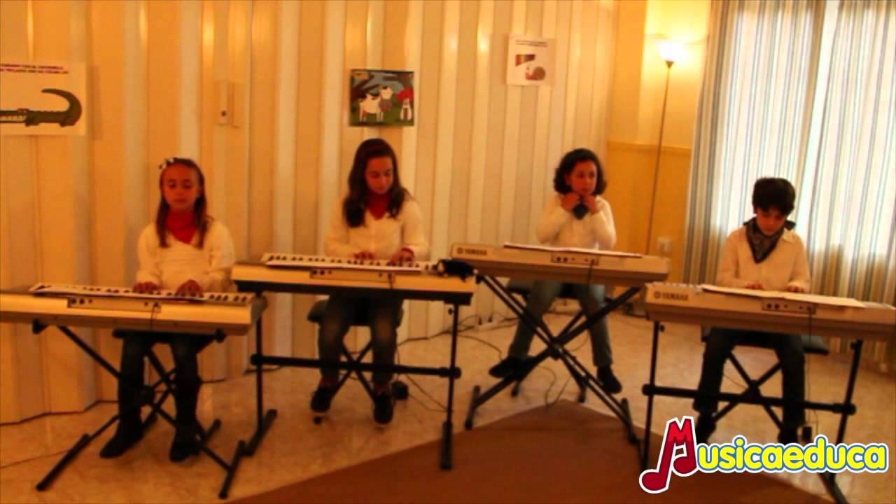La canción del Faraón - Grupo de alumnos de Mi Teclado 4 - Escuela de Música Francisco Jurado