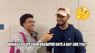WOULD YOU LET YOUR DAUGHTER DATE A GUY LIKE YOU? | Public Interview (QUESTIONDAY10)