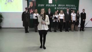 preview picture of video 'Występ Kingi Kuropatwy z okazji Święta Niepodległości w ZSOiZ w Czyżewie'