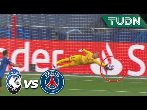 ¡Otra vez Keylor! ¡Doble atajadón!| Atalanta 1-0 PSG | Champions League 2020 – 4tos final | TUDN