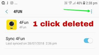 how to delete 4fun account