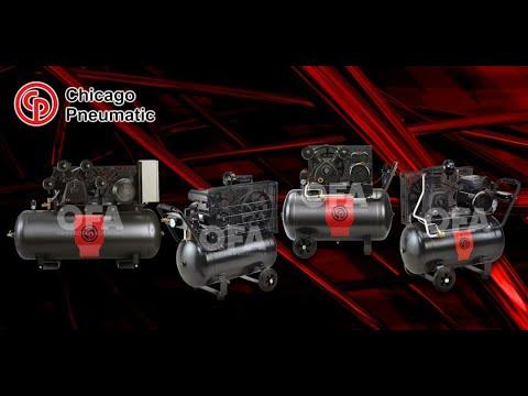 Chicago Pneumatic Piston Compressor Overview
