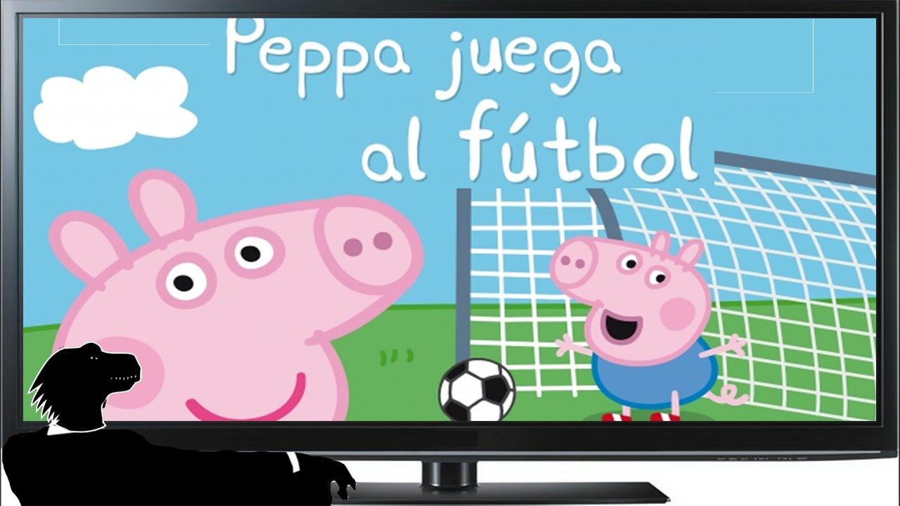 Peppa Pig juega al FÚTBOL