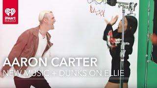 Aaron Carter Show How He Beat Shaq! | Exclusive Interview