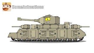 Рисуем TOG 10 Мультики про танки