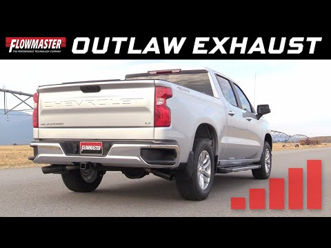 2019 GM Silverado/Sierra 1500 5.3L - Flowmaster Outlaw Cat-back Exhaust 817854