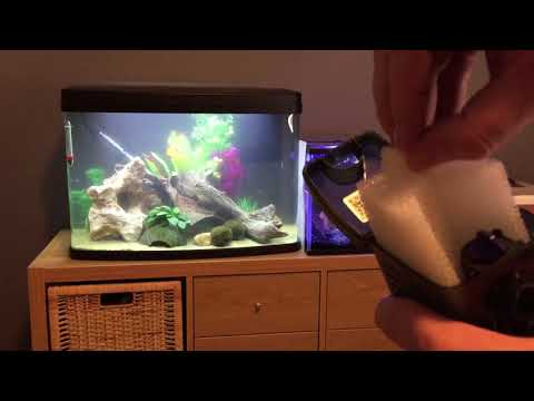 Unboxing the Fluval U1 underwater fish tank aquarium filter for tanks up to 55L or 15 US gallons