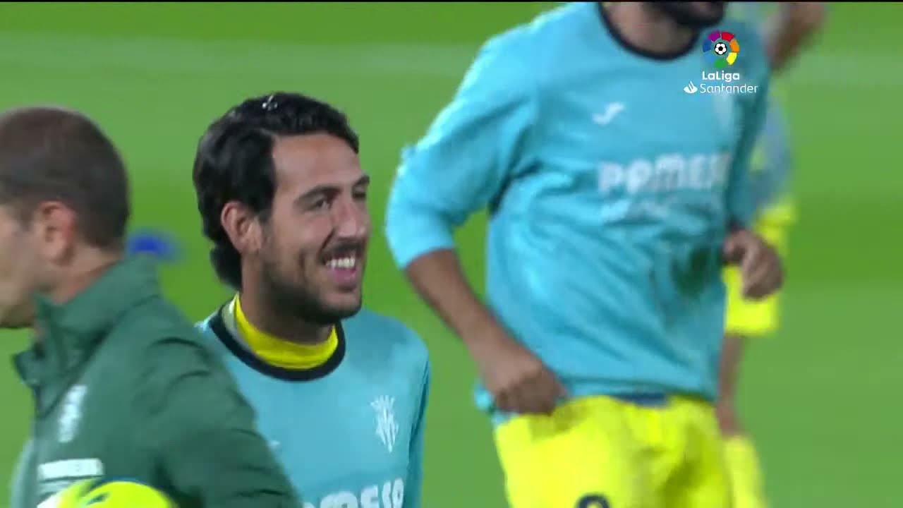 Calentamiento Villarreal CF vs Elche CF