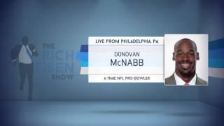 6-Time NFL Pro-Bowler Donovan McNabb on 1st QB Taken in Draft - 4/27/17