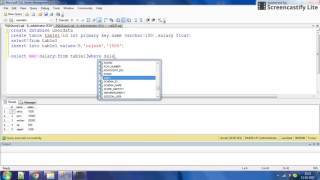 how to get 1st ,2nd ,3rd ,nth highest  salary using sql part 1?video by intelligent programming