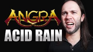 ANGRA - Acid Rain | Vocal cover by Julliano Barcellos