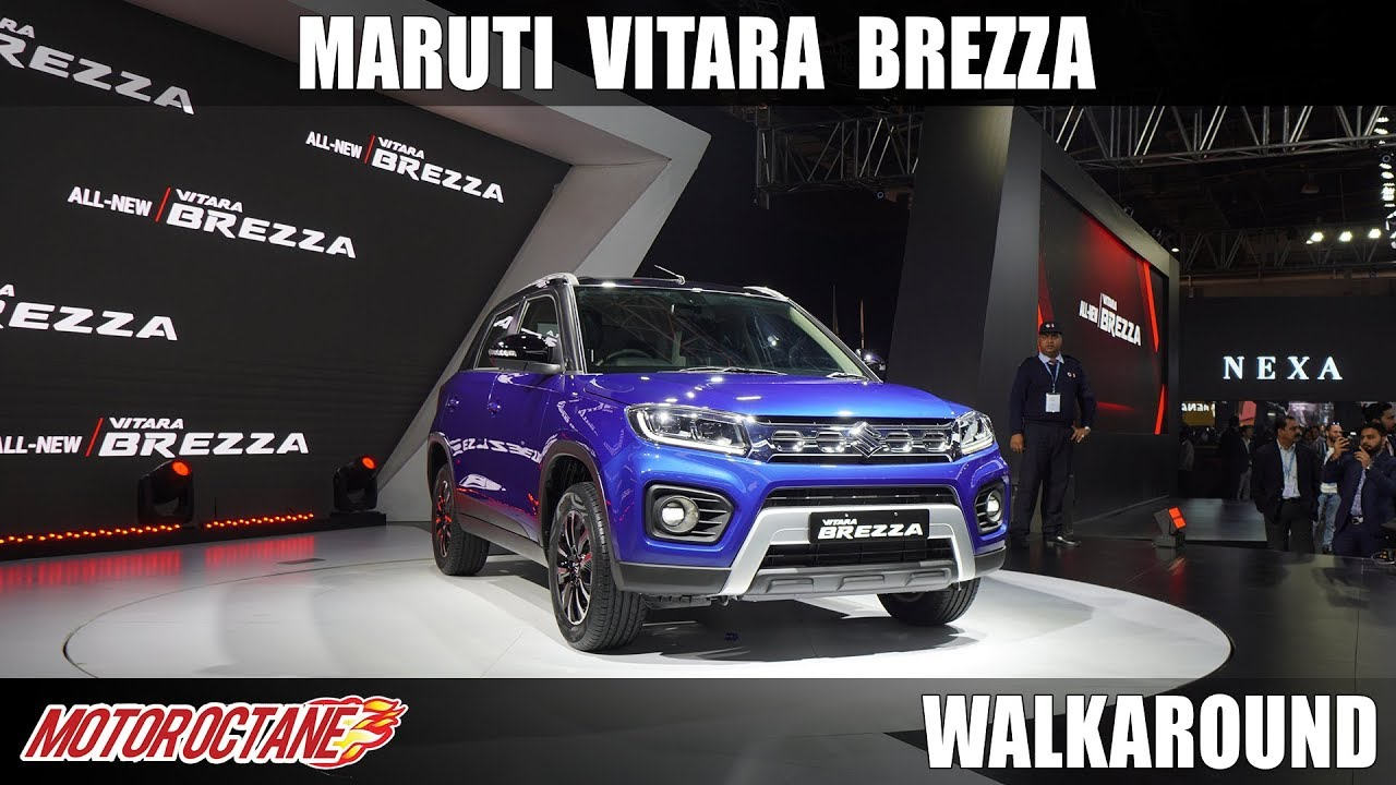 Motoroctane Youtube Video - Maruti Vitara Brezza 2020 - Finally! | Auto Expo 2020 | Hindi | Motoroctane