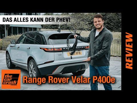 Range Rover Velar (2021): Das ALLES kann der Plug-in Hybrid! Fahrbericht | Review | Test | P400e AWD