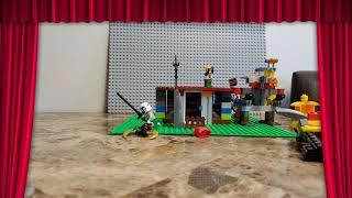 The Rampage Lego War