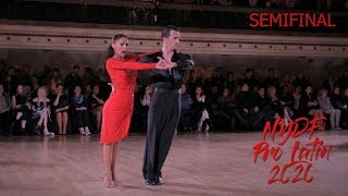 2020 NYDF I Professional International Latin I Semi Final