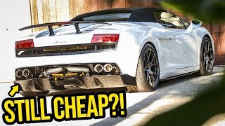 Here's How Much Money My Cheap Lamborghini ACTUALLY Cost To Rebuild