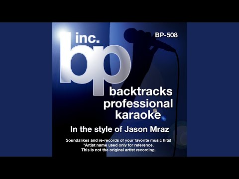 You and I Both (Instrumental Track Without Background Vocal) (Karaoke in the style of Jason Mraz)