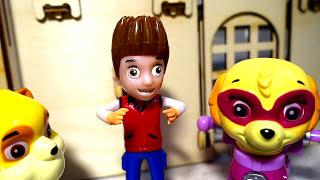 Щенячий Патруль мультик новые серии Щенки в Замке Развивающие мультики Герои в масках Игрушки