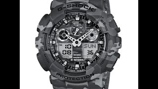 Casio G-Shock GA-100CM-8AER Coolest and most beautiful CASIO G-SHOCK