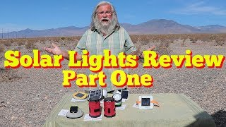 7 Solar Lights Compared and Reviewed: Unboxing
