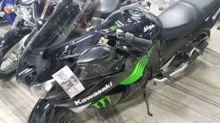All Things Chrome  2009 monster energey ZX14 $6450