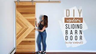 DIY Sliding Barn Door | How To