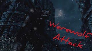 Skyrim-Werewolf attack/Atak wilkołaka/атака вервольфа
