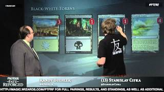 Pro Tour Fate Reforged Deck Tech: White-Black Tokens with Stanislav Cifka