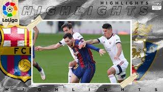 Barcelona 4 - 0 Osasuna - HIGHLIGHTS & GOALS - 11/29/2020
