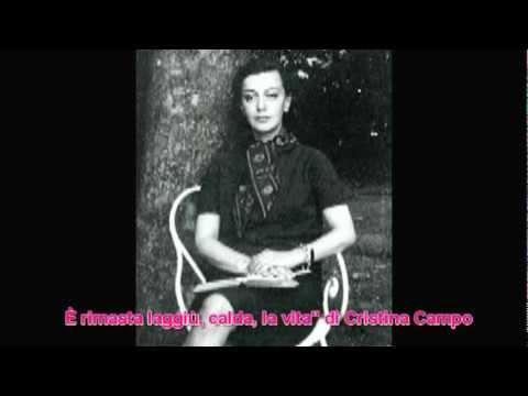 Vidéo de Cristina Campo