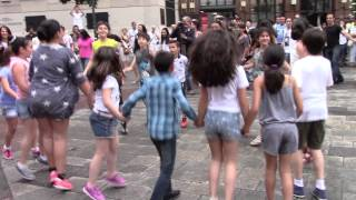 Kochari flashmob in Vienna