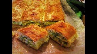 Brza pita od tikvica/Zucchini fillo pie