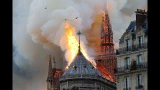 Arde Unul Din Simbolurile Frantei, Catedrala Notre-Dame Din Paris. Imagini In Direct Cu Tragedia!