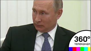 Путин встретился с президентами Хорватии и Франции